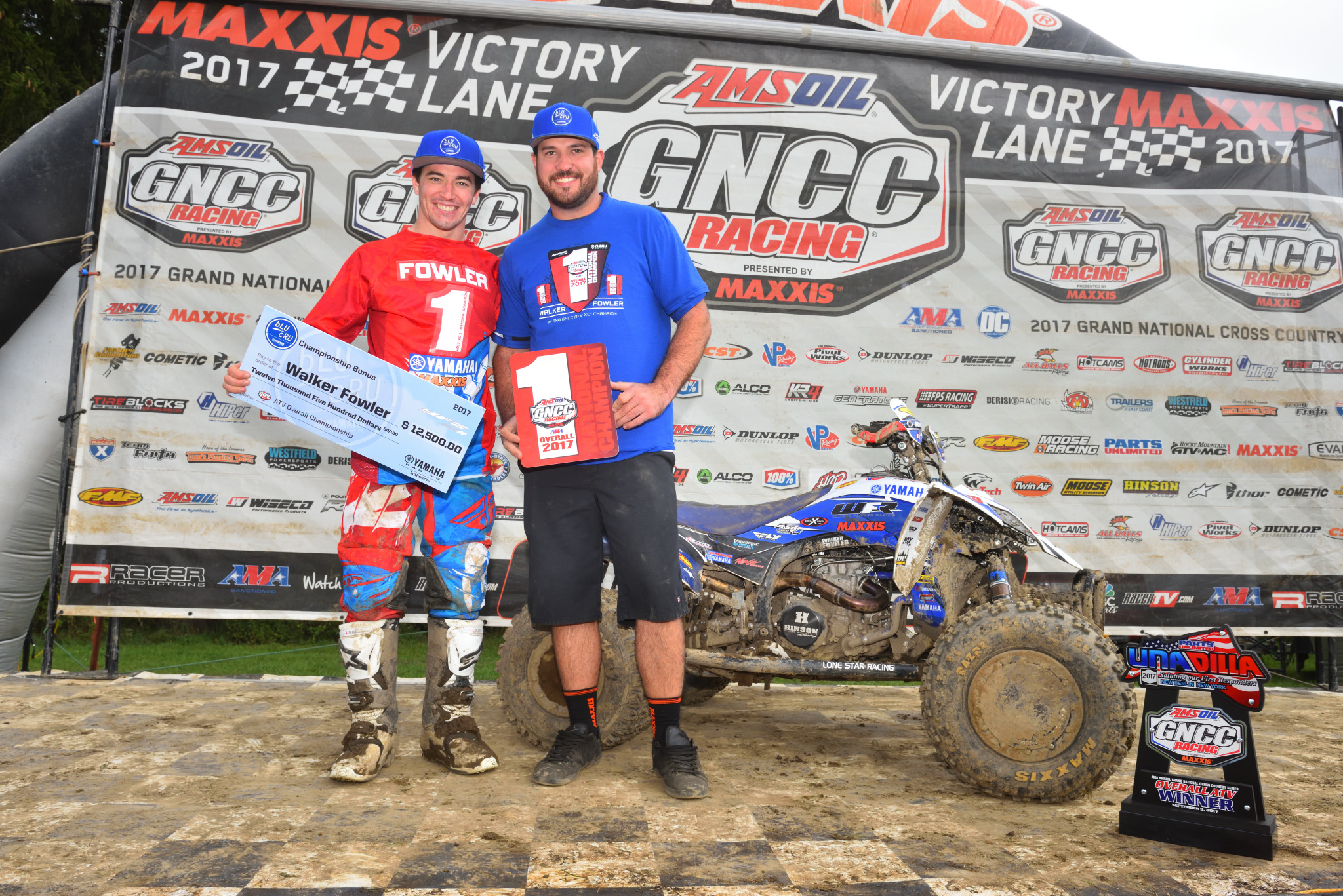 Yamaha's Walker Fowler Takes 2017 GNCC Championship