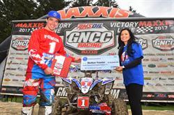Yamaha's Walker Fowler Clinches GNCC Championship