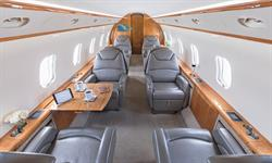 Silver Air Challenger 300 Interior 2