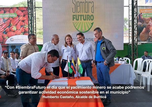Mayor of Buritica