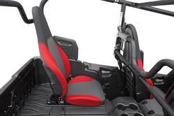 Yamaha Wolverine X4 rear seats