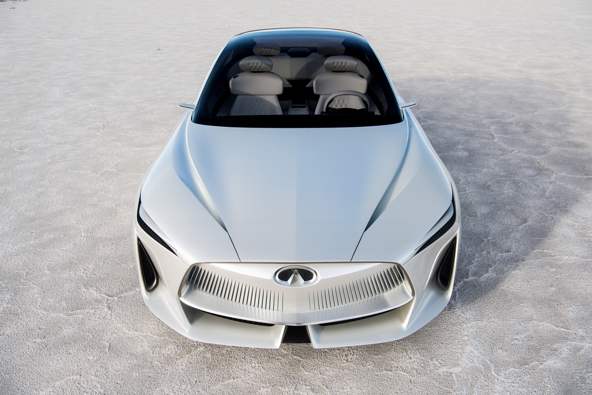 Infiniti Q Inspiration Concept Arrives Amidst Detroit's Truck Party