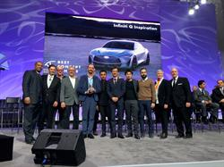 "The INFINITI Q Inspiration concept was named ""Best Concept Vehicle"" and awarded ""Best Designed Interior"" by EyesOn Design at the 2018 North American International Auto Show."