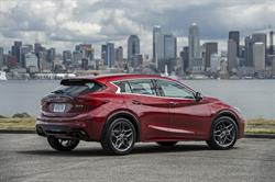 Sales of the INFINITI QX30 premium active crossover increased 12 percent with 830 vehicles delivered - its best December and an increase of 524 percent for its best year.
