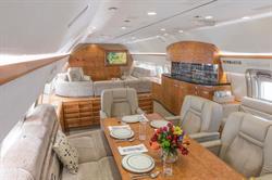 Silver Air BBJ cabin