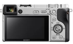 Sony a6300 Silver - Back
