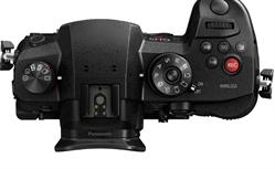 Top of Panasonic Lumix GH5S Camera