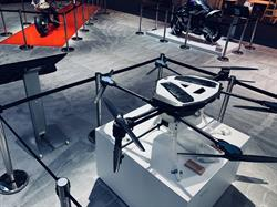 Yamaha YMR-01 Industrial Drone at CES 2018