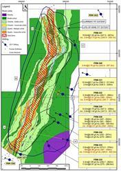 Appendix A: Drill Hole Location Map