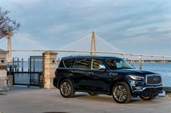 With its first full month of deliveries the updated 2018 QX80, INFINITI's premium full-size SUV, had its best January, with an increase of 5%, to 1,830.
