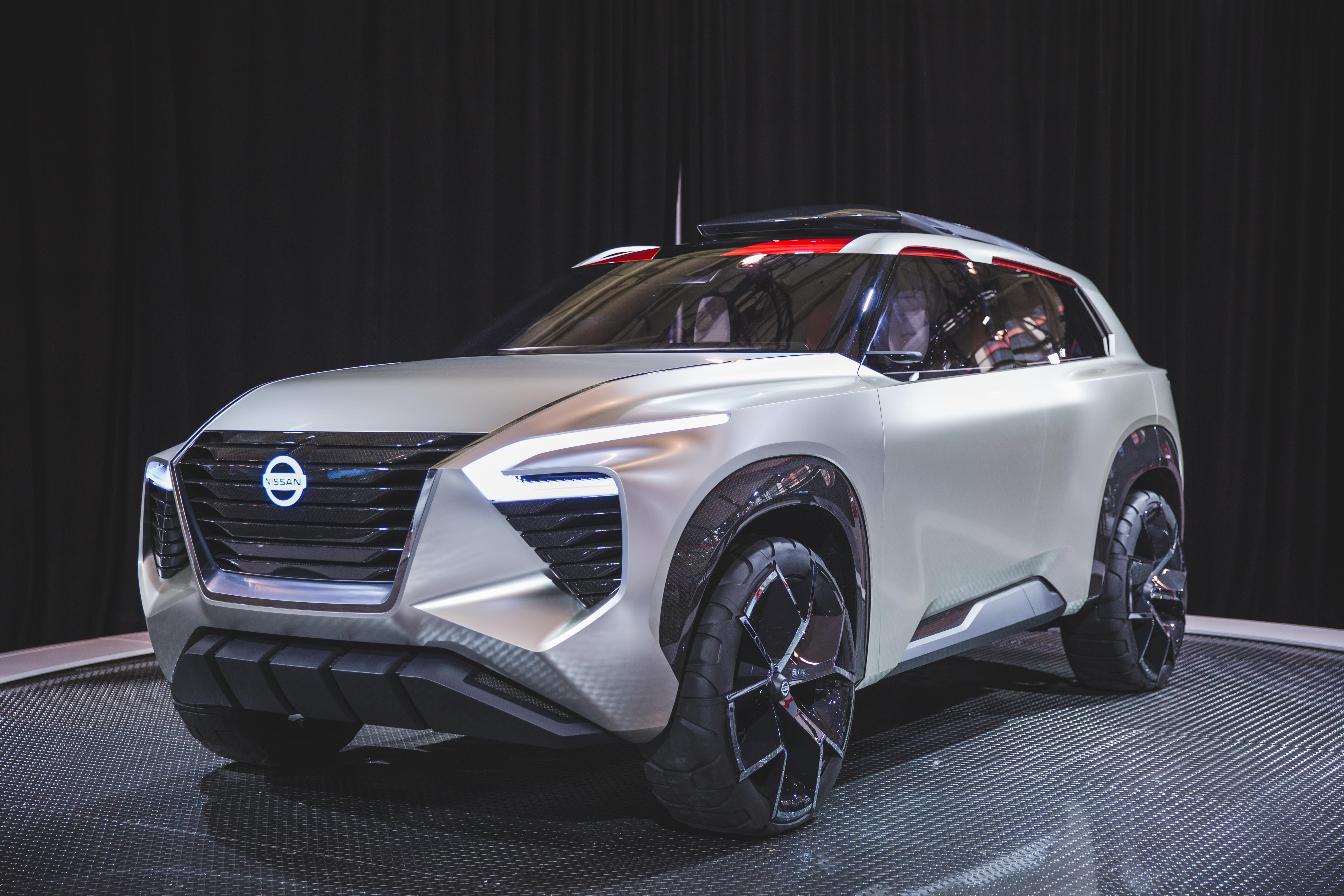 nissan xmotion concept makes national debut at the 2018 canadian international auto show. Black Bedroom Furniture Sets. Home Design Ideas