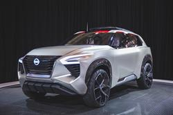 The Nissan Xmotion three-row SUV concept made its Canadian debut in Toronto at the Canadian International Auto Show.