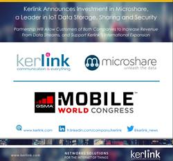 Kerlink Announces Investment in Microshare