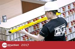 2017 Canstruction Build Day