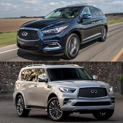 Two INFINITI models, the 2018 QX60 and the 2018 QX80, were selected as segment leaders in Kelley Blue Book's 5-Year Cost to Own Awards, which recognizes new vehicles with the lowest projected ownership costs.